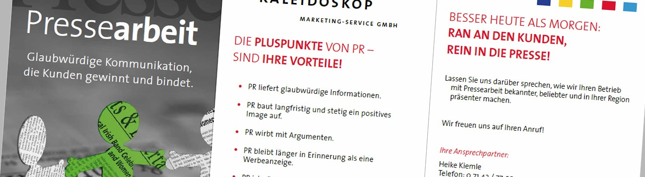 marketing handwerk pressearbeit